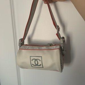 2002 Chanel vintage sport line shoulder/hand bag